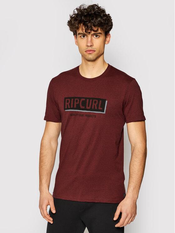 Rip Curl Marškinėliai Boxed CTERK9 Bordinė Standard Fit