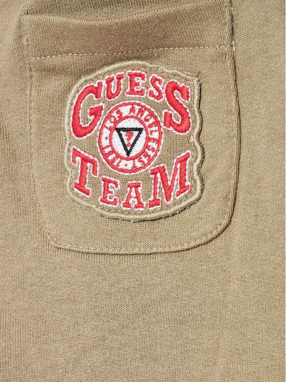 Guess Guess Dres I1YG12 KA6R0 Zielony Regular Fit