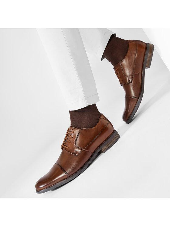 Clarks Clarks Обувки Becken Cap 261231387 Кафяв