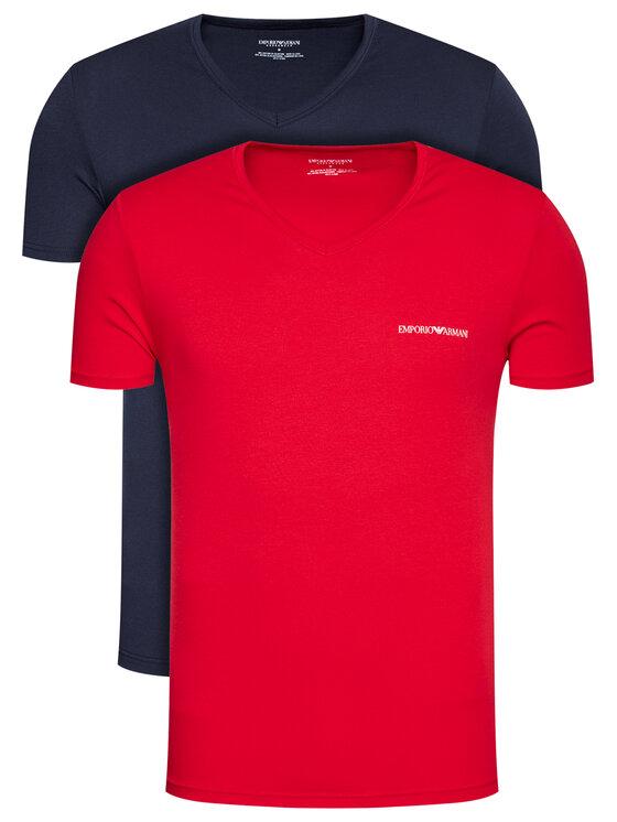 Emporio Armani Underwear 2 marškinėlių komplektas 111849 1P717 76035 Tamsiai mėlyna Regular Fit