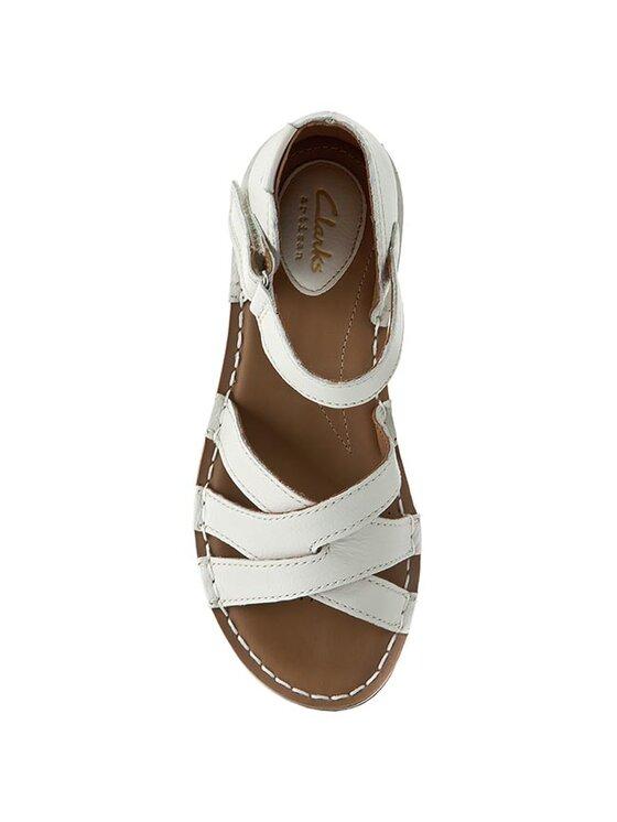 Clarks Clarks Sandalen Tustin Sahara 261175254 Weiß