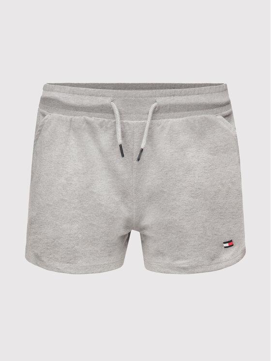 Tommy Hilfiger Tommy Hilfiger Pantaloncini sportivi UW0UW01351 Grigio Regular Fit