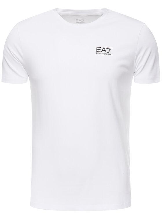 EA7 Emporio Armani EA7 Emporio Armani Tričko 3GPT52 PJM5Z 1100 Biela Regular Fit