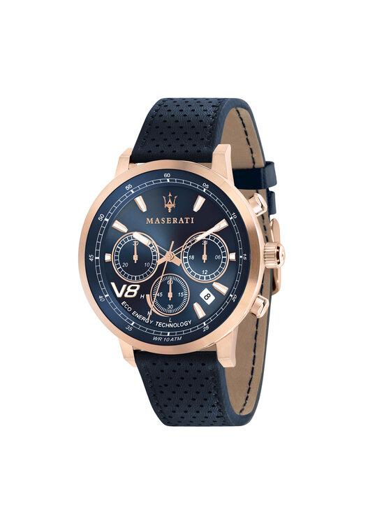 Maserati Laikrodis Gt Eco Energy R8871134003 Tamsiai mėlyna