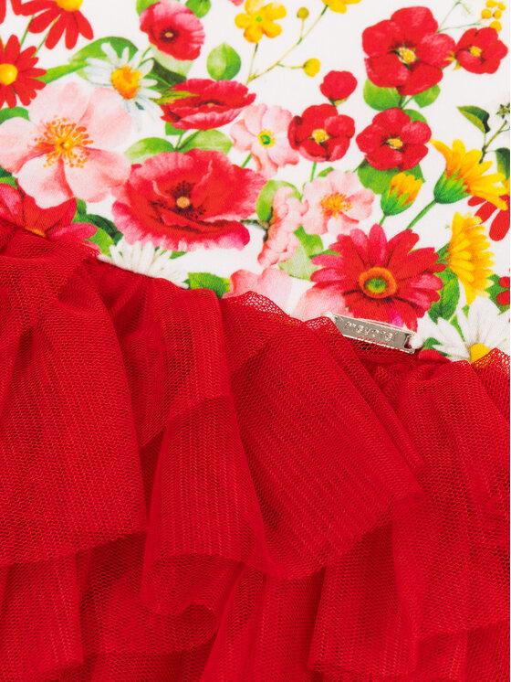 Mayoral Mayoral Každodenné šaty 1920 Červená Regular Fit