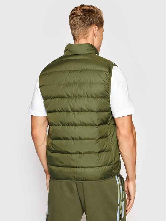 adidas adidas Kamizelka Essentials GT9130 Zielony Slim Fit
