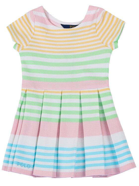 Polo Ralph Lauren Sukienka codzienna Spring II 311784202 Kolorowy Regular Fit