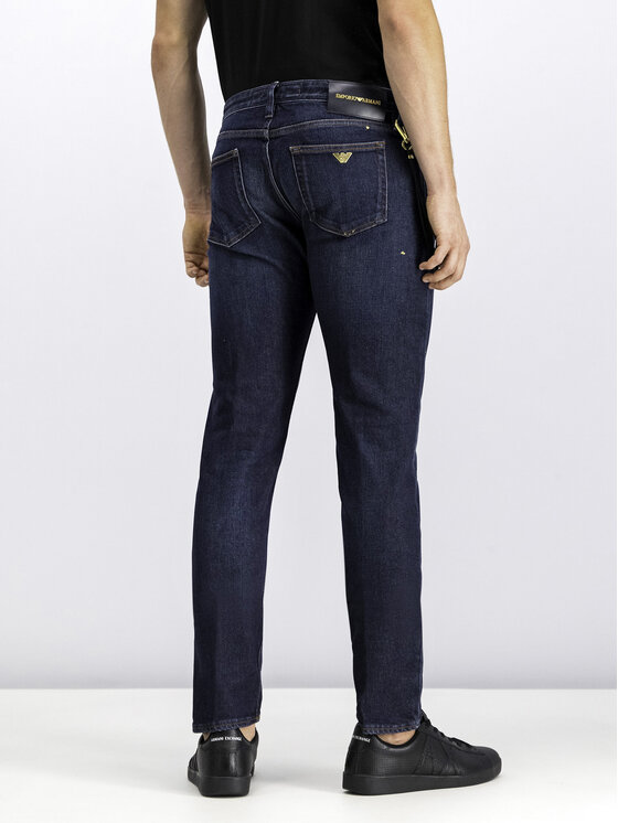 Emporio Armani Emporio Armani Jeans 6G1J75 1D8GZ 0941 Blu scuro Slim Fit