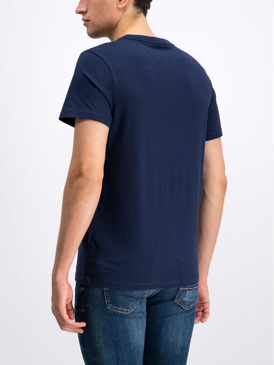 Tommy Sport Tommy Sport Marškinėliai S20S200082 Tamsiai mėlyna Regular Fit