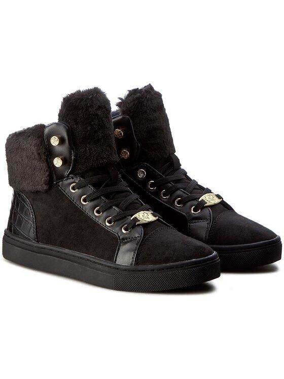 Guess Guess Sneakersy Jariya FLJRI4 ESU12 Černá