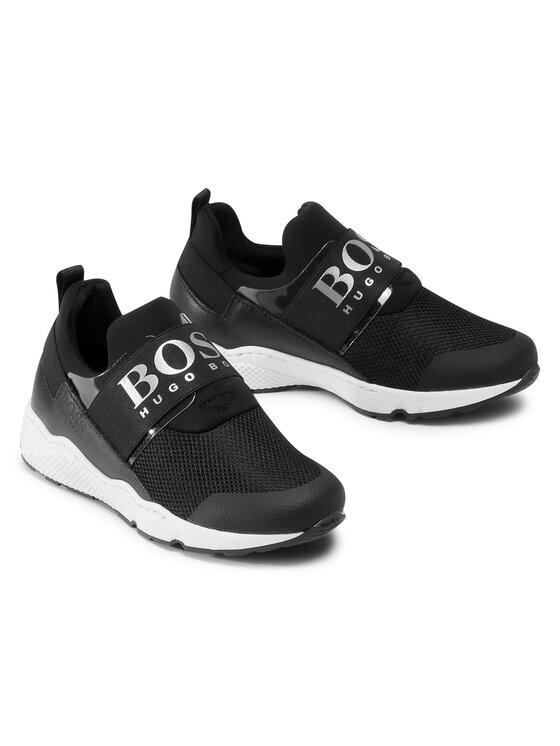 Boss Boss Sneakersy J29J93 D Czarny