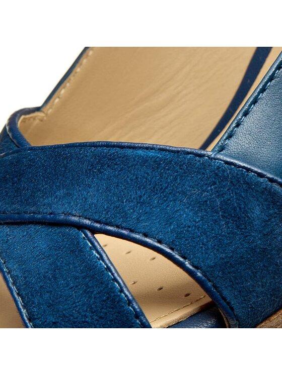 Geox Geox Sandále D Lana B D62Q6B 04321 C4072 Tmavomodrá