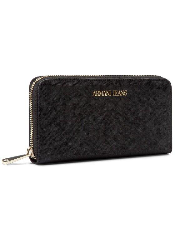 Armani Jeans Armani Jeans Duży Portfel Damski 928532 CC857 00020 Czarny