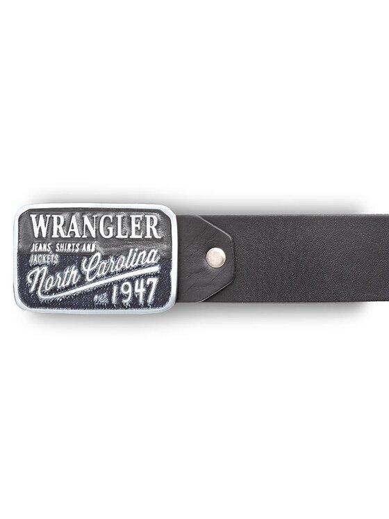 Wrangler Wrangler Herrengürtel Ctf Denim W0316U101 85 Schwarz