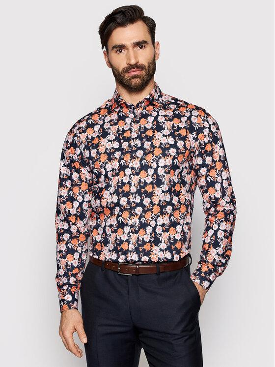 Roy Robson Marškiniai 1290-80 Spalvota Slim Fit