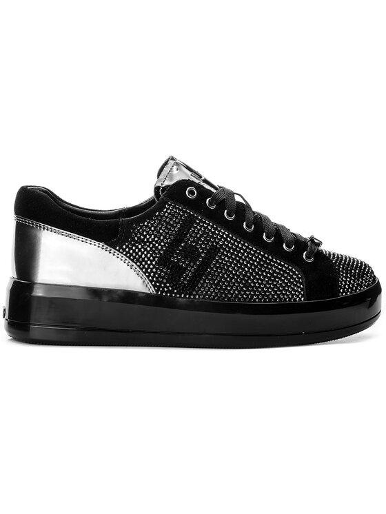 Liu Jo Liu Jo Sneakersy Sneaker Rose B18019 T2030 Czarny