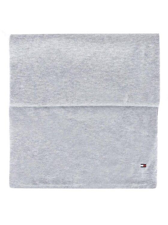 Tommy Hilfiger Tommy Hilfiger Szal Cotton Silk Scarf AM0AM02497 Szary