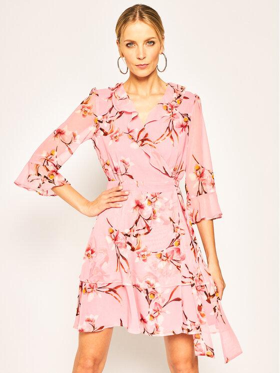 Marella Sukienka letnia Ikebana 32213901 Różowy Regular Fit