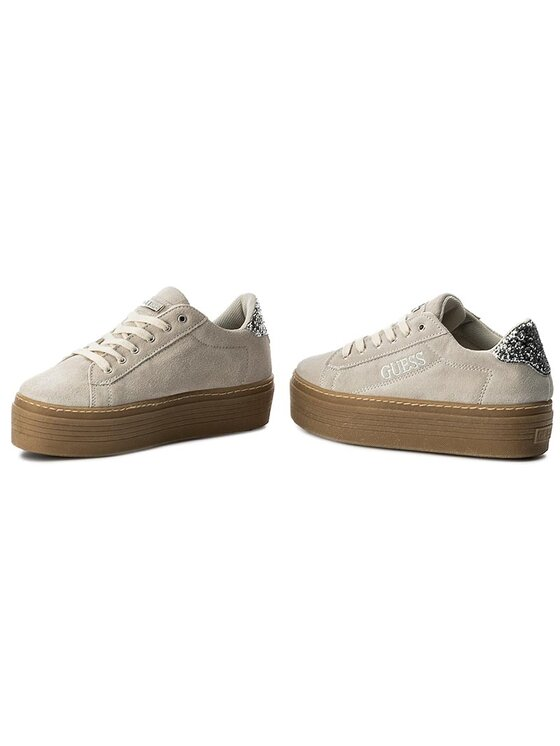Guess Guess Sneakers Claris FLCRI4 SUE12 Beige