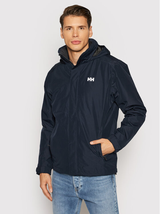 Helly Hansen Demisezoninė striukė Dubliner Insulated 53117 Tamsiai mėlyna Regular Fit