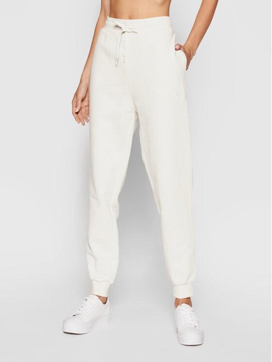 Guess Guess Spodnie dresowe Alene O1GA04 K68I1 Beżowy Regular Fit