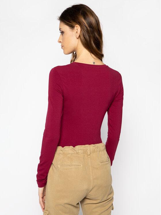 Guess Guess Bluse W94I88 K7DE0 Violett Regular Fit