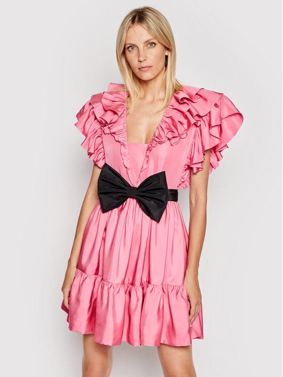 Custommade Kokteilinė suknelė Lotus By Nbs 212390409 Rožinė Regular Fit