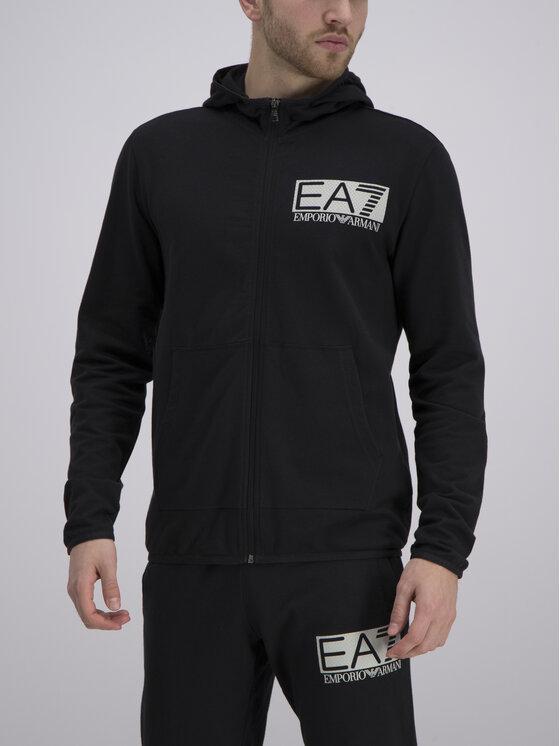 EA7 Emporio Armani EA7 Emporio Armani Sweatshirt 3GPM53 PJ05Z 1200 Noir Regular Fit