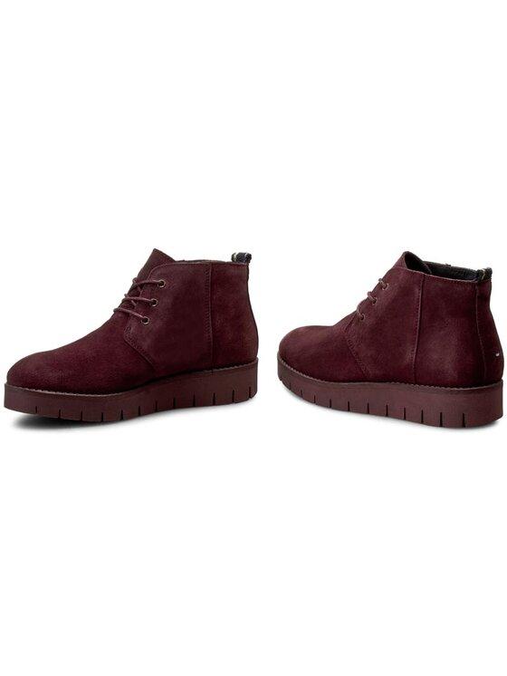 Tommy Hilfiger Tommy Hilfiger Členková obuv Windsor 3B FW56821630 Bordová
