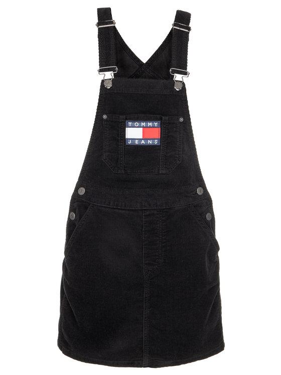 Tommy Jeans Tommy Jeans Hétköznapi ruha Tjw Dungaree DW0DW07278 Fekete Regular Fit