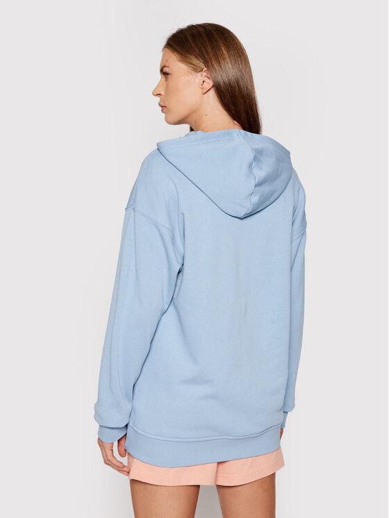 adidas adidas Majica dugih rukava adicolor Trefoil H33585 Plava Regular Fit