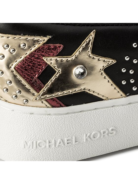 MICHAEL Michael Kors MICHAEL Michael Kors Teniși Trent Slip On 43R8TNFP1L Negru