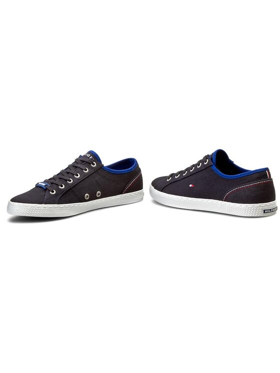 Tommy Hilfiger Tommy Hilfiger Sneakers aus Stoff Int-Donnie 1 D-1 FM56819402 Blau