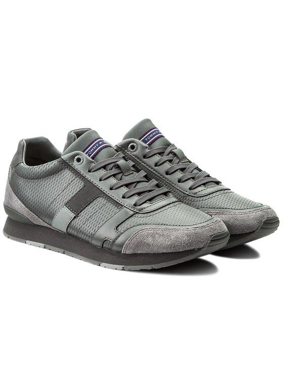 Tommy Hilfiger Tommy Hilfiger Sneakers Leeds 2C1 FM0FM01443 Gris