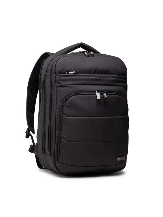 National Geographic Kuprinė Backpack 2 Compartments N00710.06 Juoda