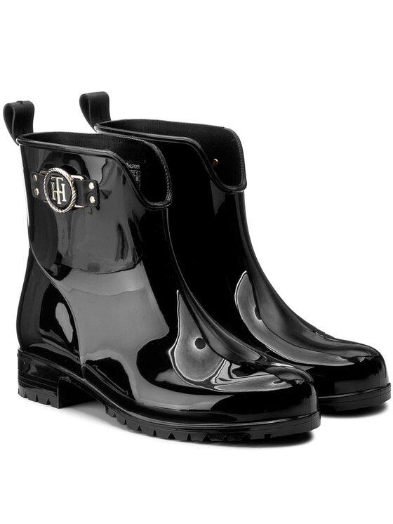 Tommy Hilfiger TOMMY HILFIGER Bottes de pluie Oxley 12R FW0FW00869 Noir