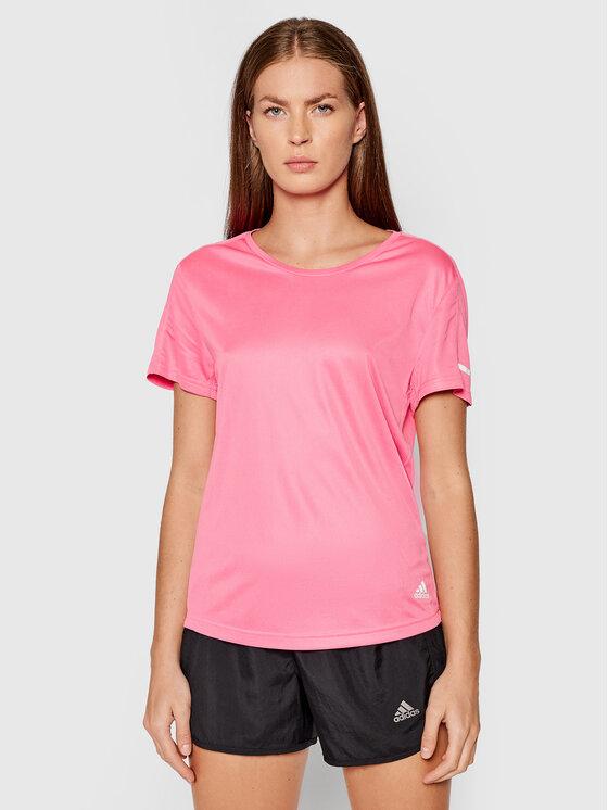 adidas adidas Koszulka techniczna Run It H31030 Różowy Standard Fit