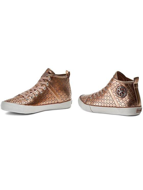 Guess Guess Sneakersy Joel FLOEL1 ELE12 Zlatá