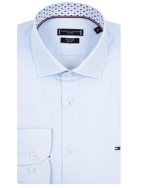 Tommy Hilfiger Tailored Tommy Hilfiger Tailored Koszula Oxford Classic TT0TT06520 Niebieski Slim Fit