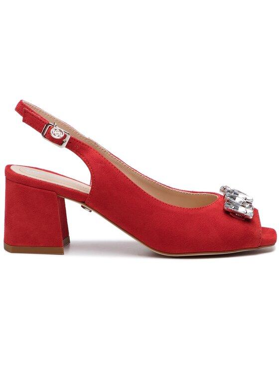 Solo Femme Solo Femme Sandále 52218-13-G13/000-07-00 Červená