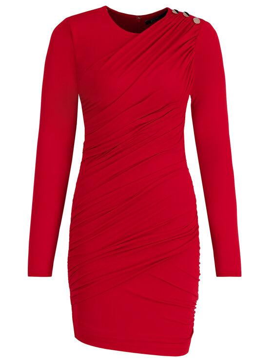 Marciano Guess Marciano Guess Sukienka koktajlowa 94G751 6230Z Czerwony Slim Fit