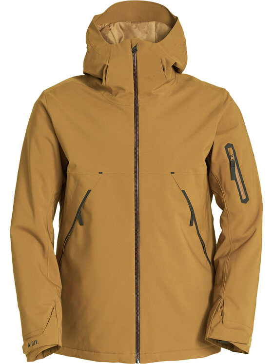 Billabong Billabong Lyžařská bunda Expedition Q6JM17 BIF9 Hnědá Regular Fit