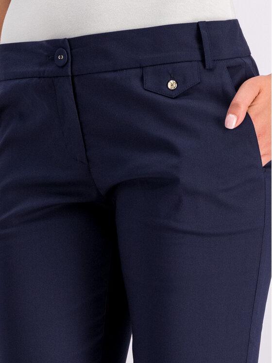 Patrizia Pepe Patrizia Pepe Pantaloni di tessuto BP0674/A23-C475 Blu scuro Regular Fit