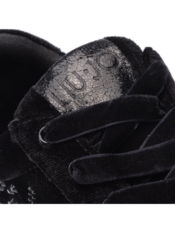 Liu Jo Liu Jo Sneakersy Silvia 03 B69017 TX010 Čierna