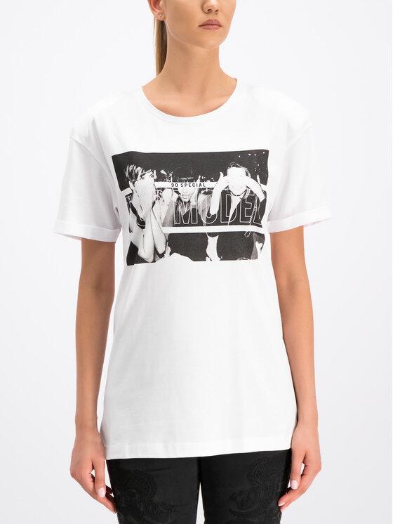 Silvian Heach Silvian Heach T-Shirt Kader CVP19249TS Bílá Regular Fit