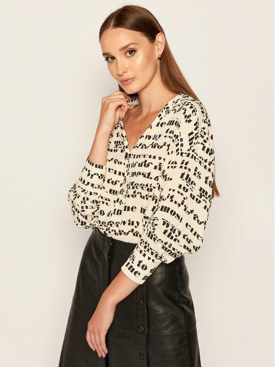 Sportmax Code Marškiniai Ospite 71160606 Smėlio Regular Fit