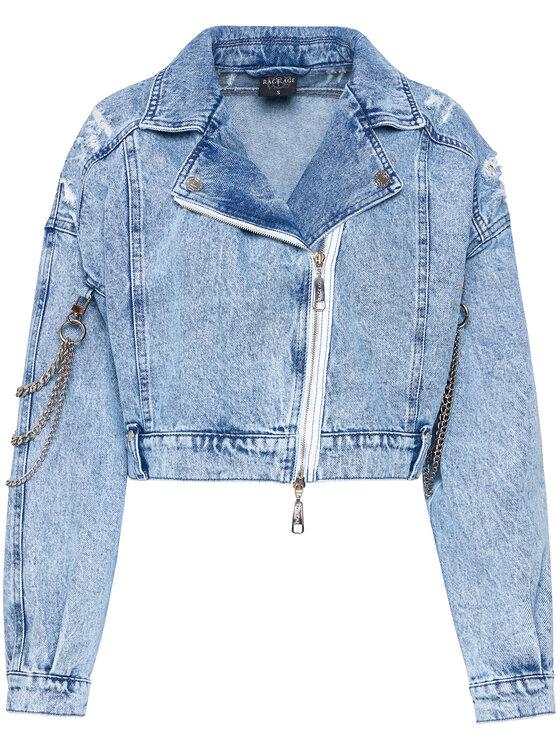 Rage Age Rage Age Kurtka jeansowa Jackshot 1 Niebieski Regular Fit