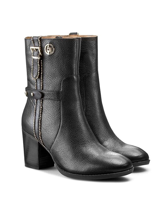 Armani Jeans Armani Jeans Botki B5590 28 12 Czarny