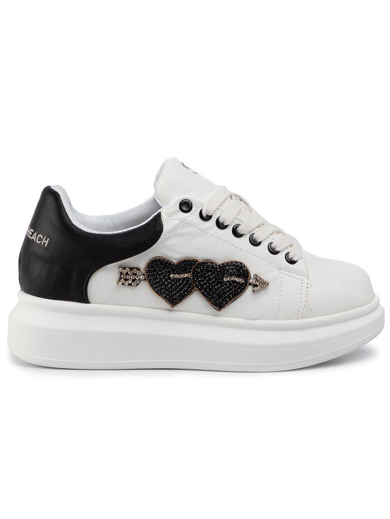 Silvian Heach Silvian Heach Sneakers Sneakers Sh Heart RCA19089CZ Weiß