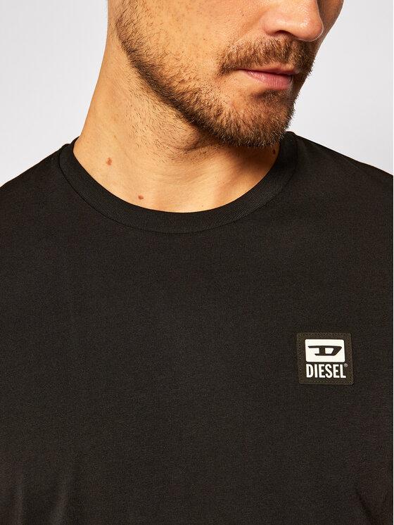 Diesel Diesel T-Shirt T-Diegos-K30 A00356 0AAXJ Czarny Regular Fit